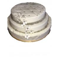 Pièce Montée Fraisiers en Wedding cake