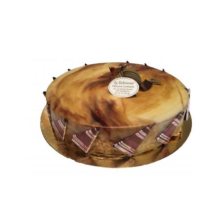 Manon ( Gâteau Poire Caramel)