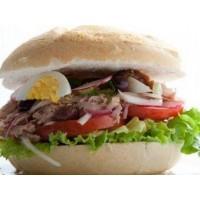 Sandwich bagnat Crudités Thon ou Poulet