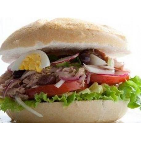 Sandwich bagnar Crudités Thon
