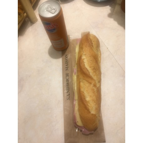 Formule sandwich + boisson. Version light