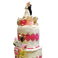 Le Weeding cake ( traditionnel Américain)